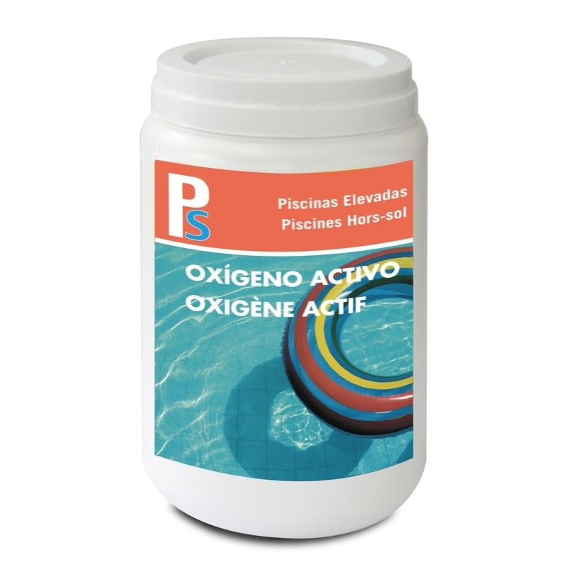 Ps ox geno activo 500 g piscinas elevadas for Oxigeno activo piscinas