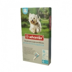 ADVANTIX PIPETAS DE 4 A 10 KG