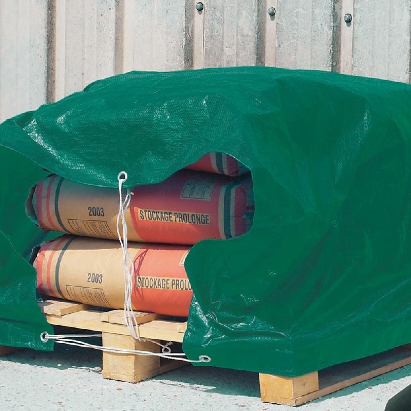 Toldo reforzado ojales color verde 4x6 m verdecora - Verdecora muebles jardin ...