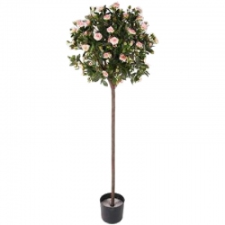 ROSAL ARTIFICIAL ROSA TRONCO 140CM MACETA