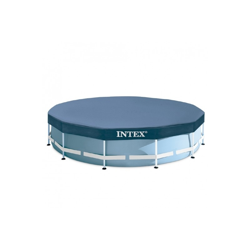 Piscina tubular intex 457x122cm con bomba verdecora for Accesorios piscinas intex
