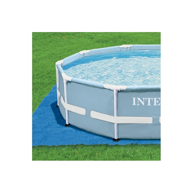 Piscina tubular intex 457x122cm con bomba verdecora for Accesorios para piscinas intex