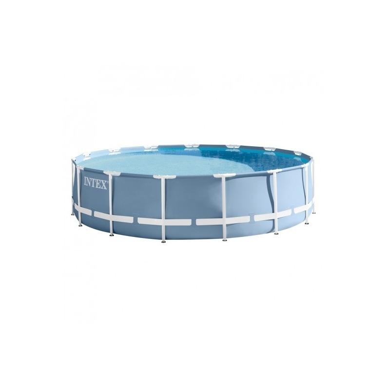 piscina tubular intex 457x122cm con bomba verdecora