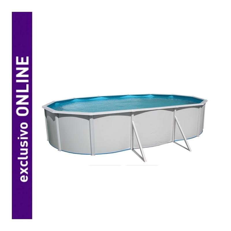 piscina ovalada 500x366x120cm verdecora