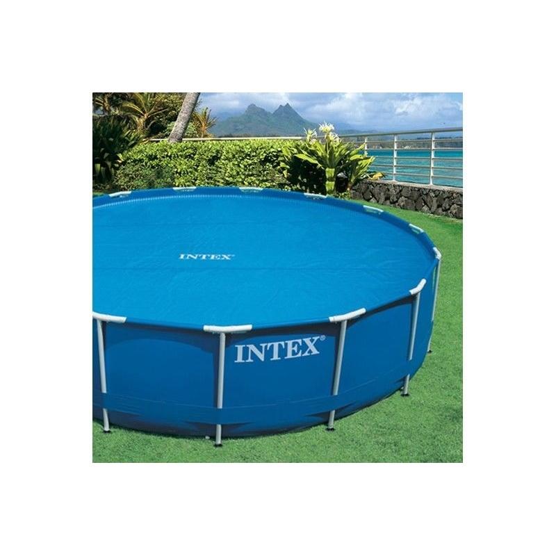 Cobertor solar para piscina 305cm verdecora for Piscinas redondas desmontables