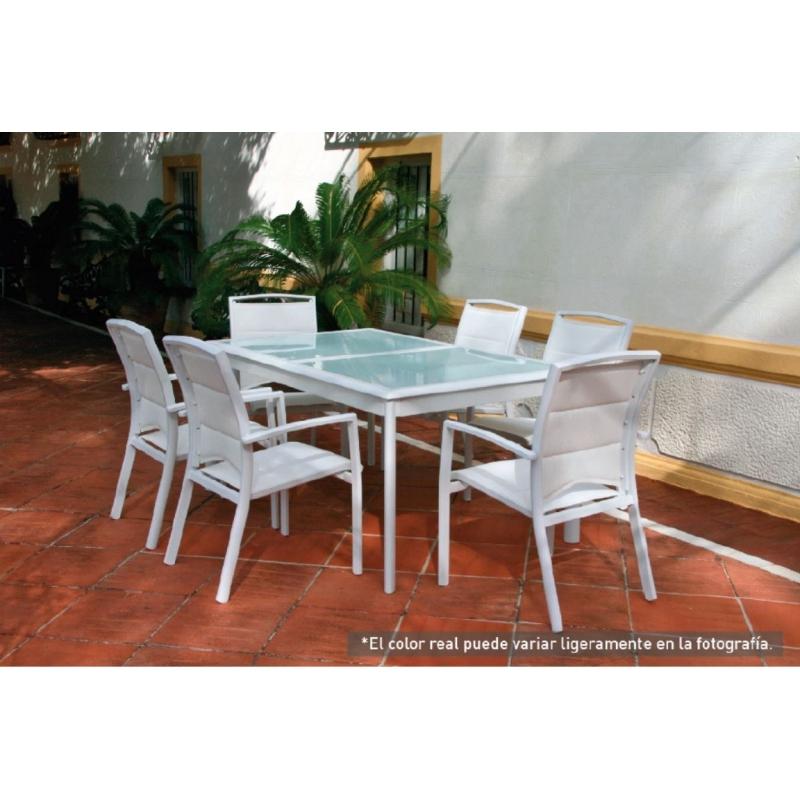 Mesas de jardin extensibles ideas de disenos - Mesa jardin extensible ...