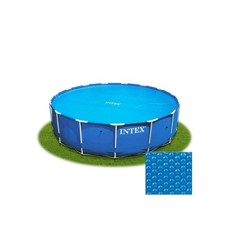 Cobertor solar para piscina 366cm verdecora for Cobertores para piscinas