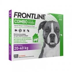 FRONTLINE COMBO 3 PIPETAS PERRO 20-40KG