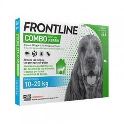 FRONTLINE COMBO 3 PIPETAS 10-20KG