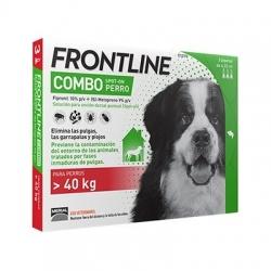 COMBO FRONTLINE 3 PIPETAS PERROS +40KG