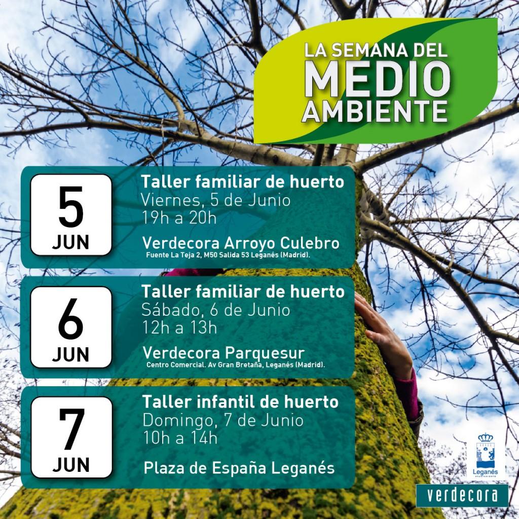Semana del medioambiente verdecora for Verdecora paterna
