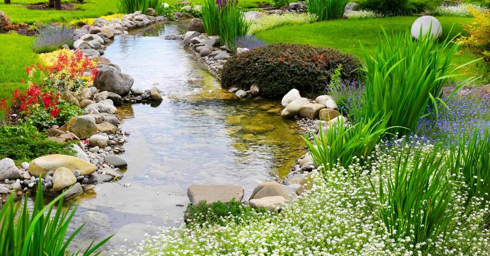 La Puesta A Punto Del Estanque Blog Verdecora - Jardin-con-estanque