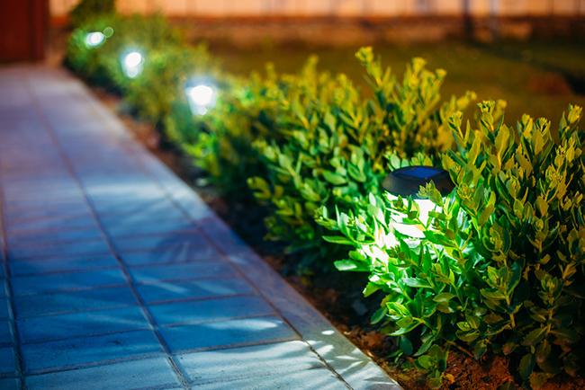 consejos para iluminar el jardn en verano - Iluminacion Jardin