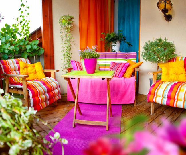 Textiles y colores, claves en la decoración de verano - Blog Verdecora
