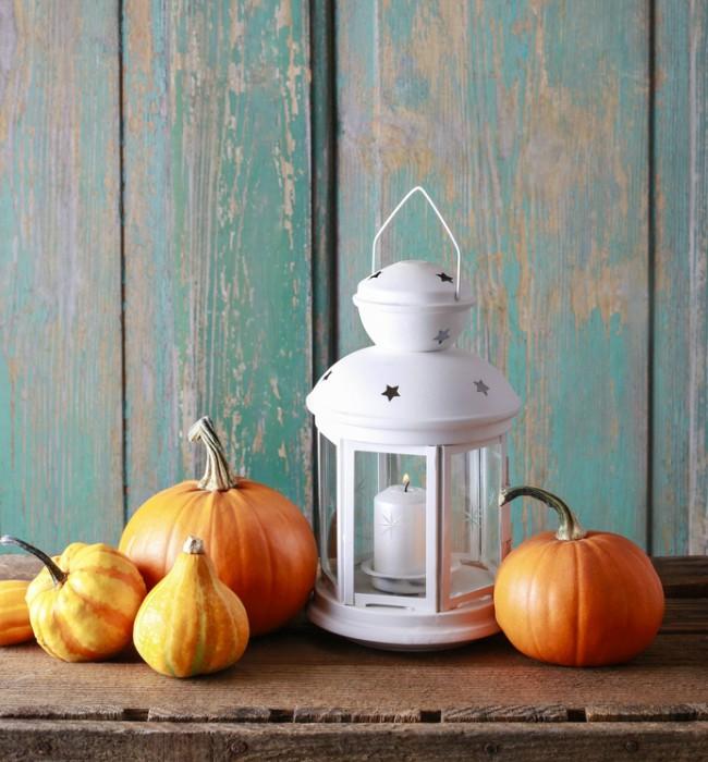 Calabazas Decoracion Mas Alla De Halloween Blog Verdecora - Decoracion-con-calabazas