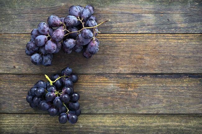 Alimentos tóxicos para un perro: uvas