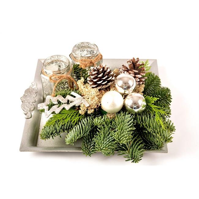 Plantas para decorar la mesa de navidad blog verdecora - Decoracion de navidad para la mesa ...