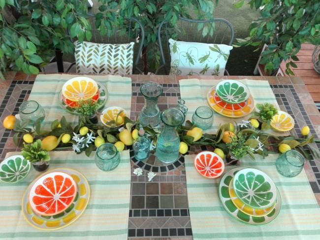 Triunfa con estas 4 ideas de decoraci n de mesas de jard n - Decorar mesas de jardin ...