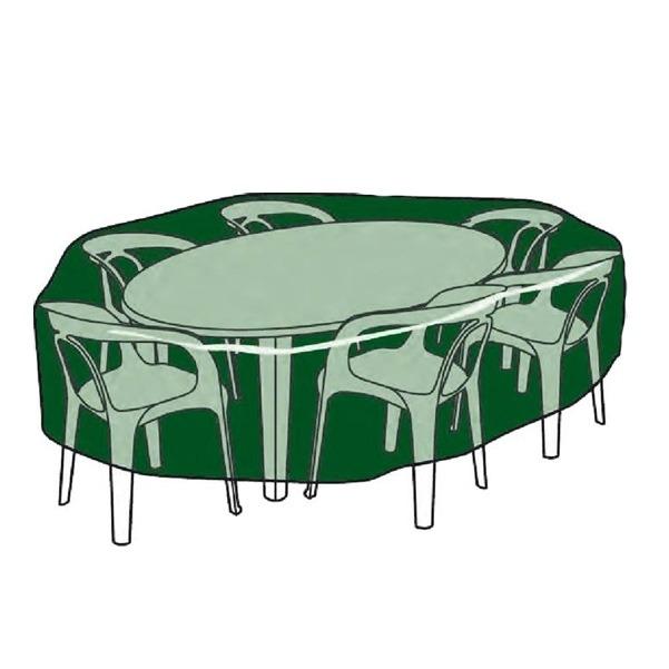 C mo elegir fundas para muebles de jard n blog verdecora - Fundas mesa jardin ...