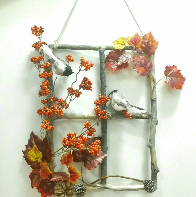 diy mvil de decoracin con flores