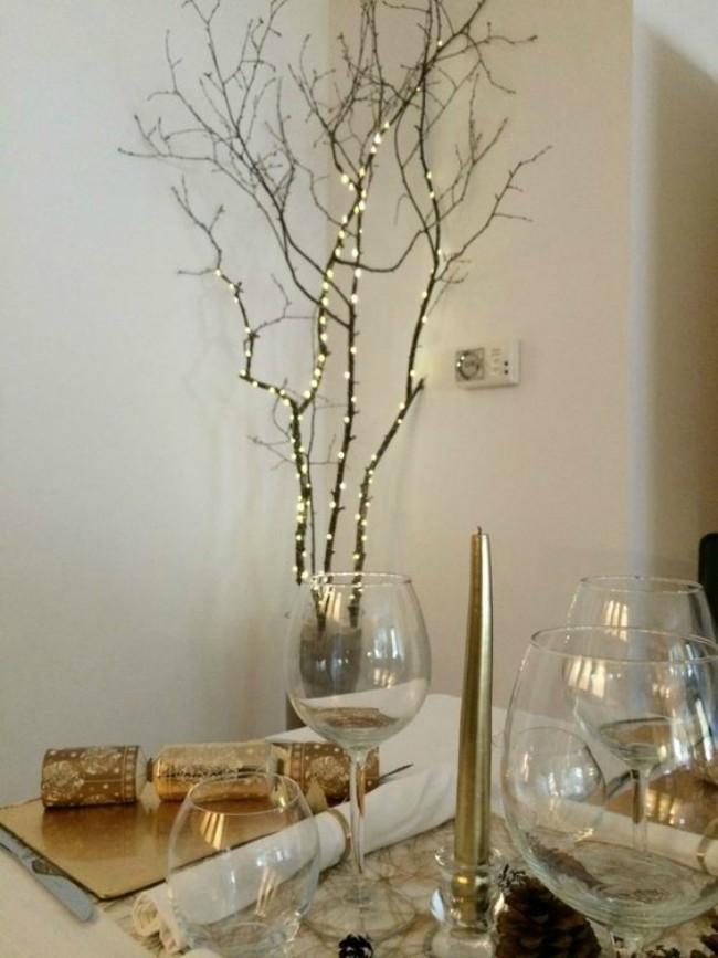 C mo decorar tu hogar con luces navide as blog verdecora - Luces arbol de navidad ...
