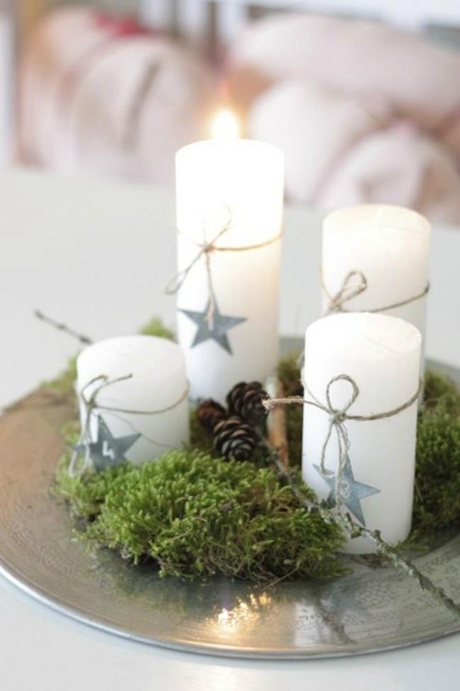 Ideas para crear centros de mesa navide os blog verdecora - Centros navidenos de mesa ...