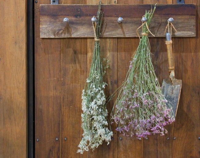 Cómo secar flores al aire