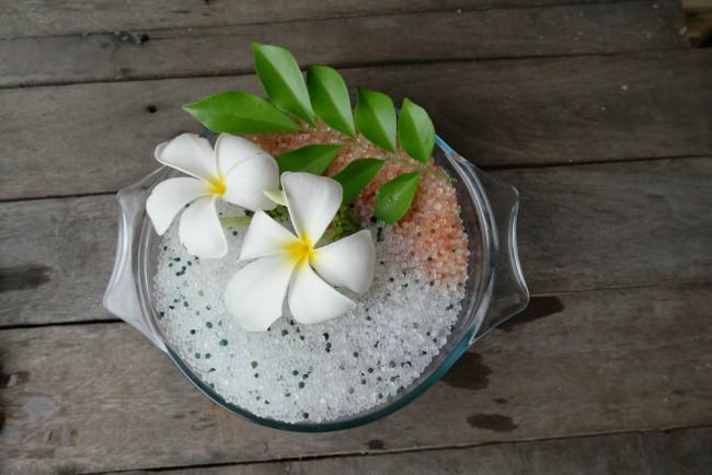 Cómo secas flores en el microondas
