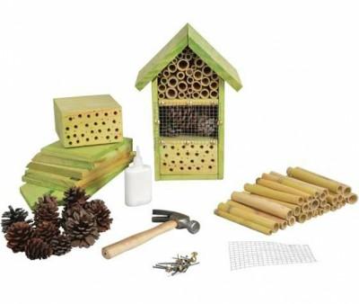Hotel para insectos de huerto