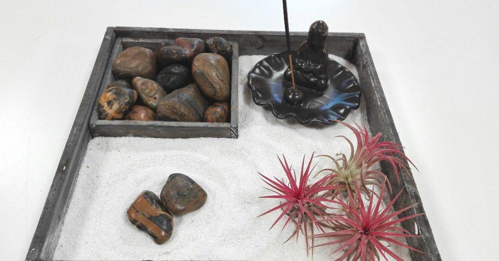 Diy c mo hacer un jard n zen en miniatura blog verdecora - Hacer un jardin zen ...
