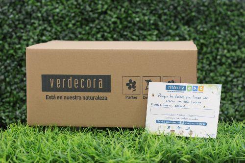 Papel plantable en tu compra de la tienda online Verdecora