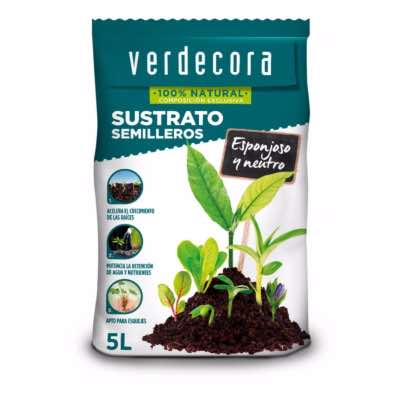 Sustrato para semilleros Verdecora