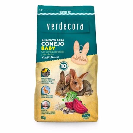 Alimento conejo baby Verdecora