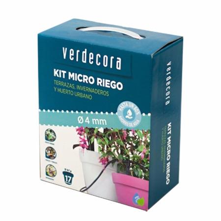 Kit riego por goteo, productos marca Verdecora