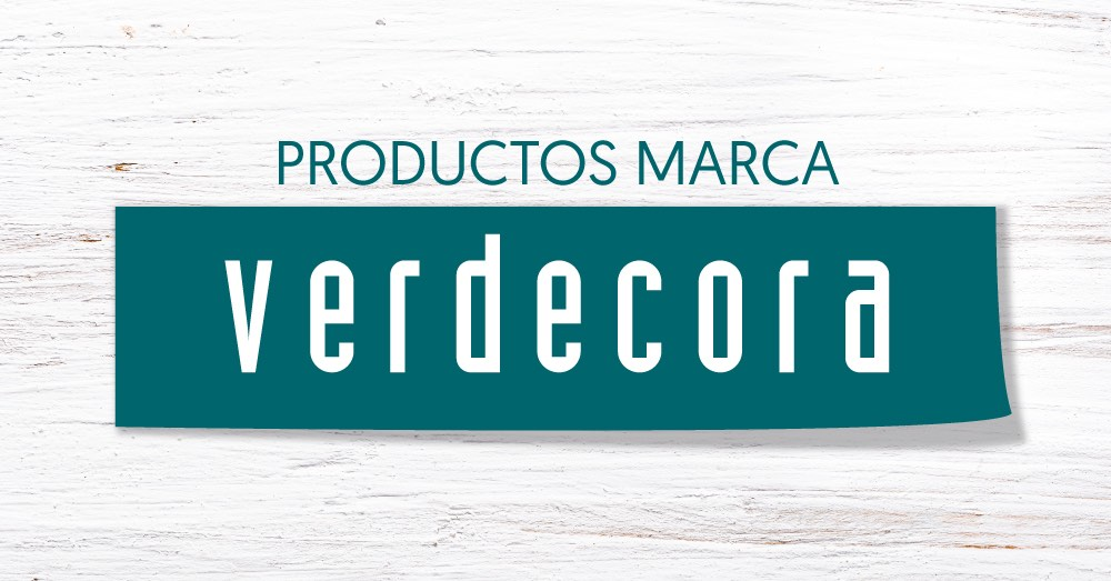 Productos marca Verdecora: calidad y naturalidad