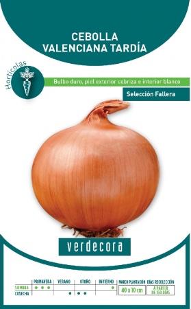 Semillas de cebolla valenciana marca Verdecora