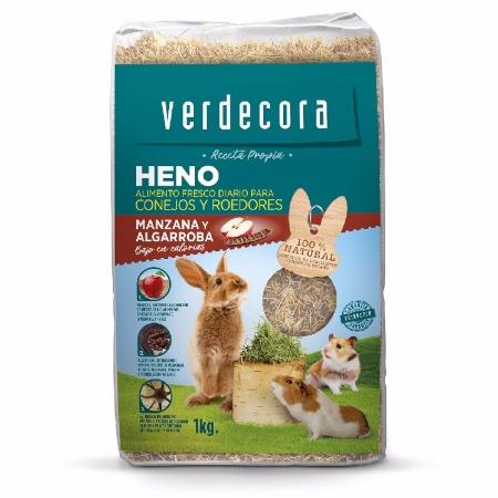 Heno para conejos marca Verdecora