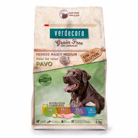 Pienso para perros grain free Verdecora