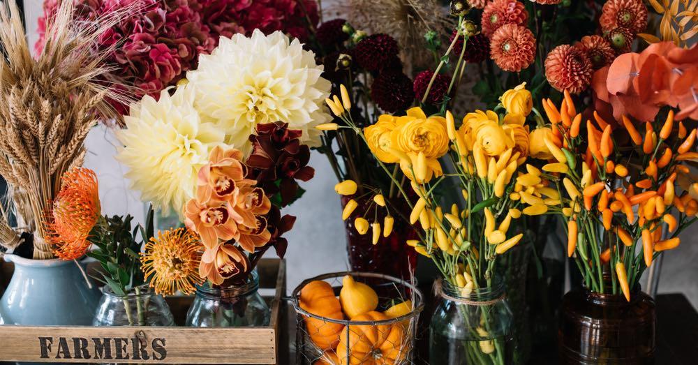 Ramos de flores de otoño: cuáles son los colores ideales