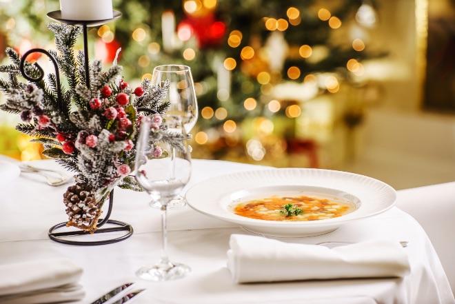 Primeros platos para un menú de Navidad fácil
