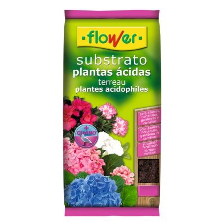 Sustrato para plantas ácidas