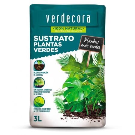 Sustrato para plantas verdes