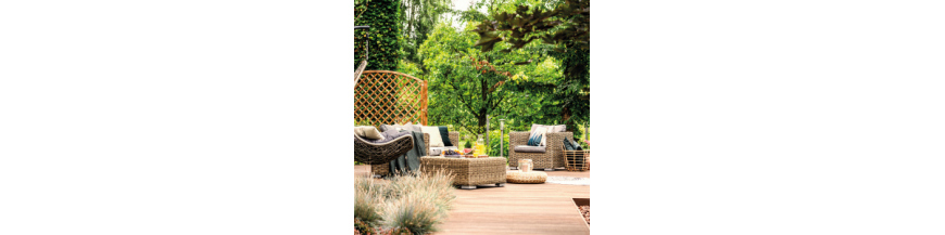 Fronda Muebles De Jardin.Muebles De Jardin Terraza Y Balcon Verdecora