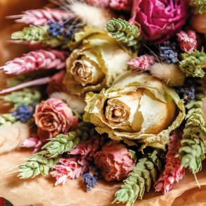Flor Seca Decorativa