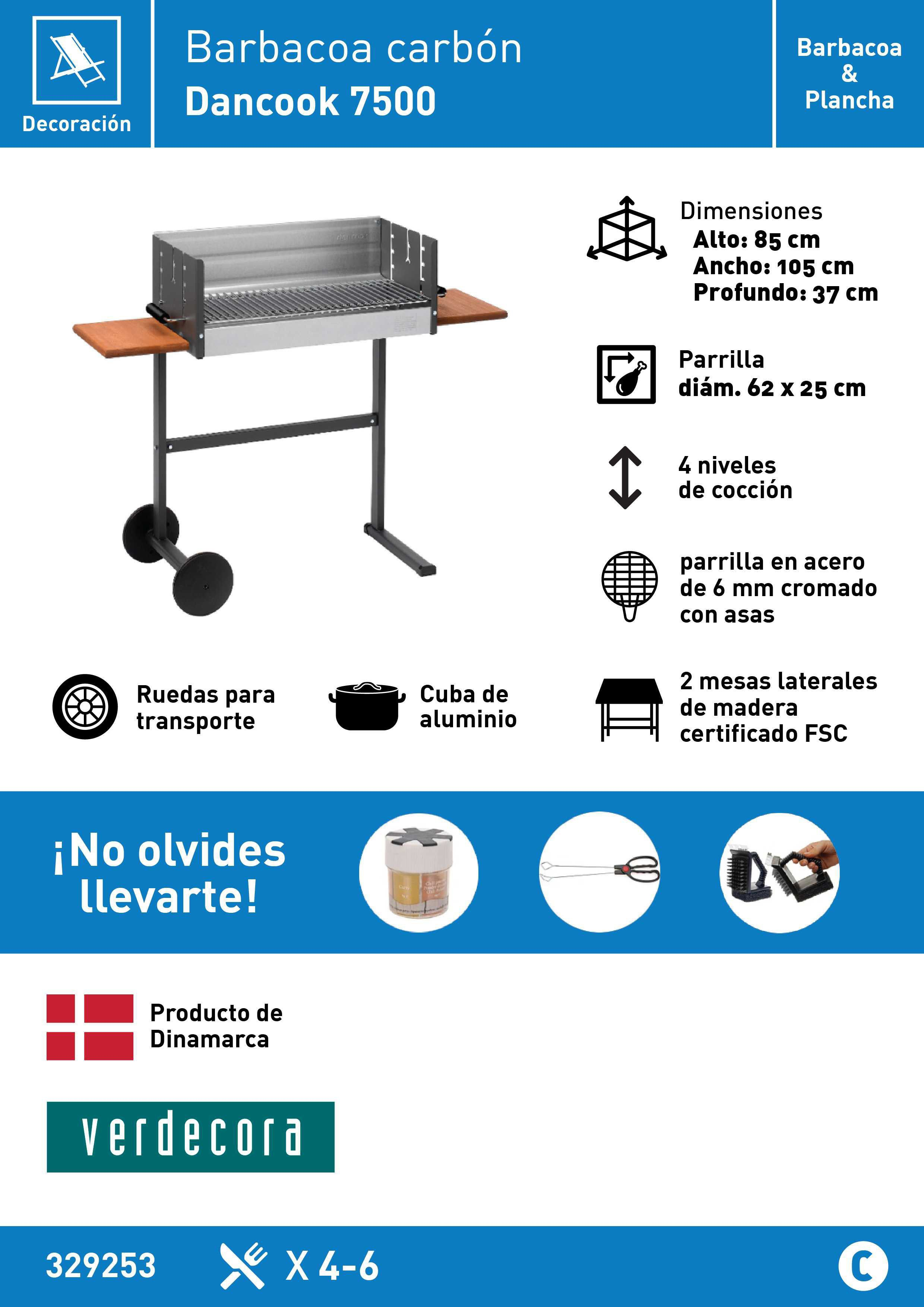 Barbacoa Dancook 7500