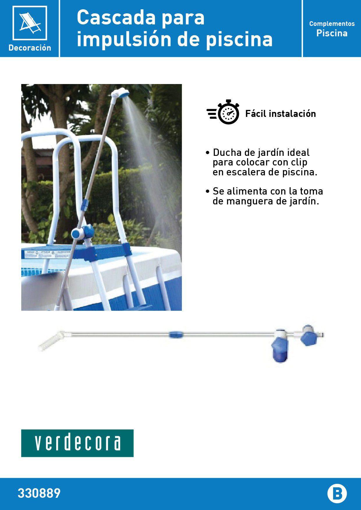 ducha clip para piscina