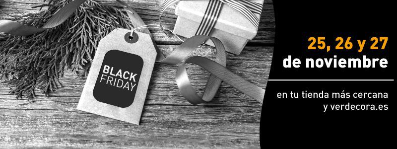 Black Friday Verdecora 2016