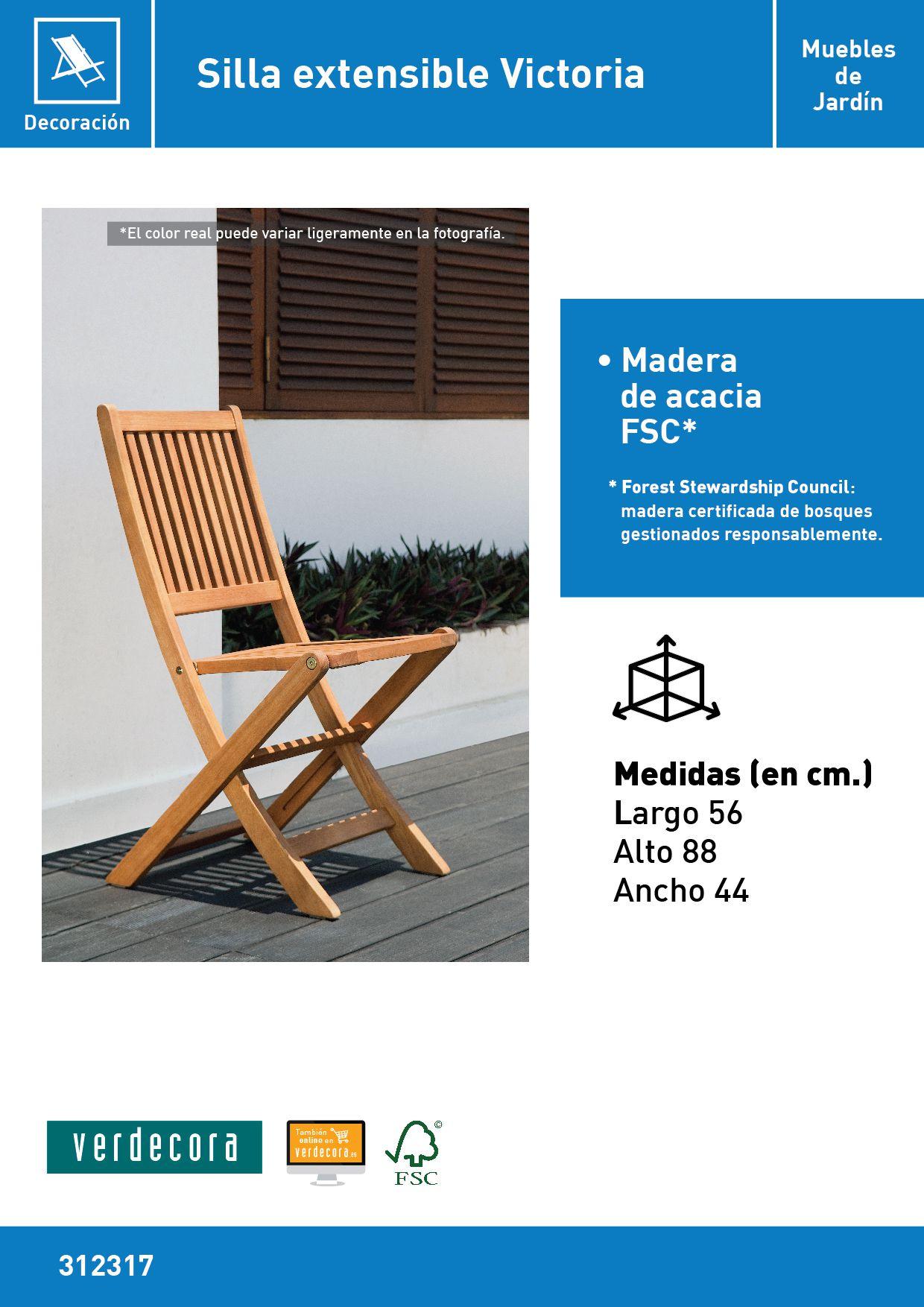 Silla De Jard N Victoria Verdecora # Muebles Riego De La Vega