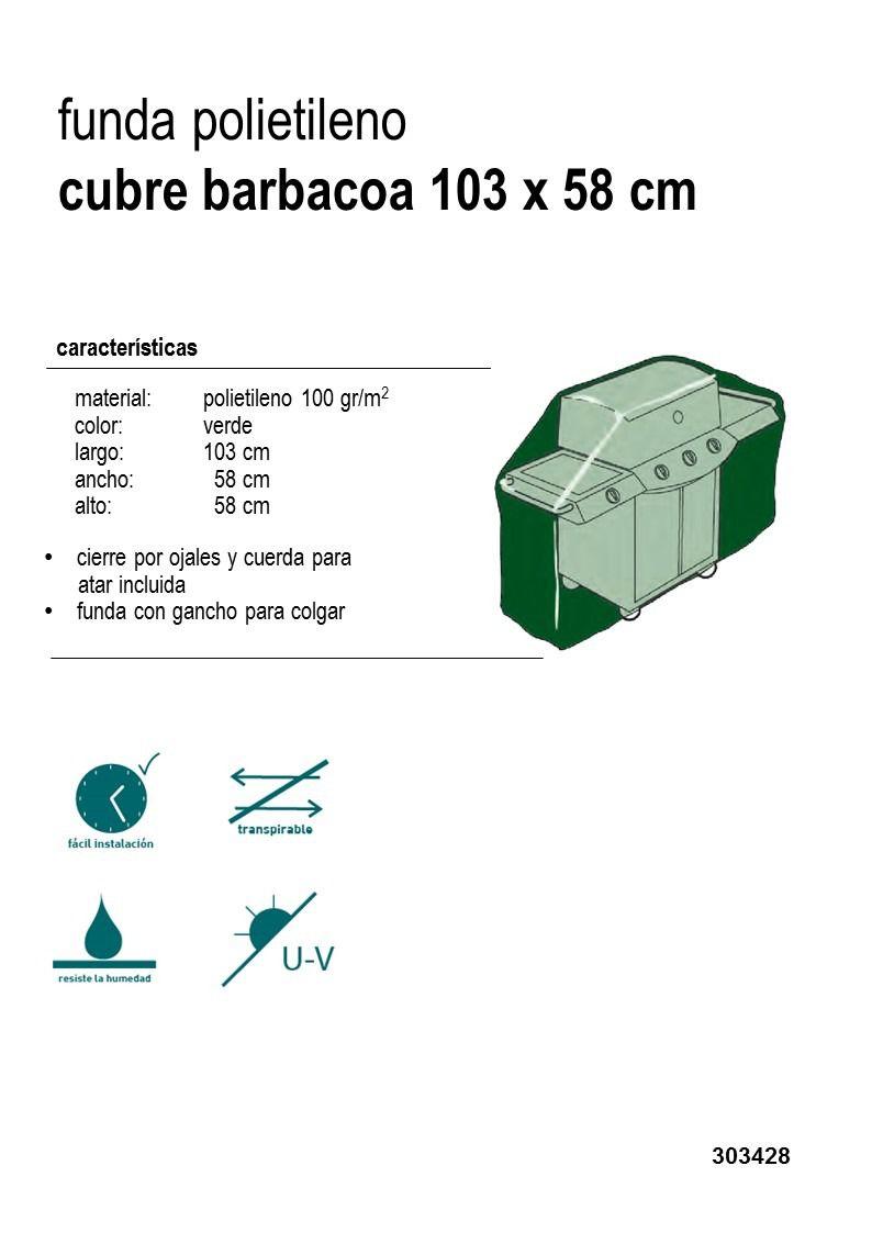 Funda Barbacoa protege